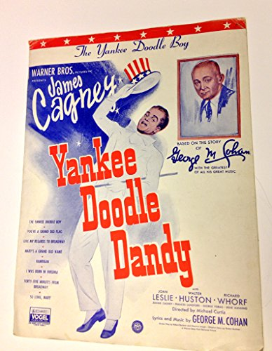 Yankee Doodle Boy - Piano Sheet Music - James Cagney Cover from Yankee Doodle Dandy