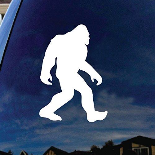 Bigfoot Sasquatch Car Window Vinyl Decal Sticker 7' Tall