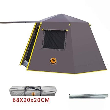 FENGMM Poste De Aluminio Hexagonal UV Automático Camping Al Aire ...