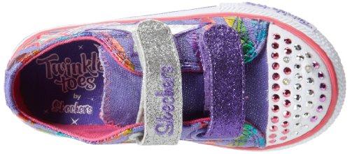 Skechers Kids 10336N Sassy Sneaker ,Purple/Multi,6 M US