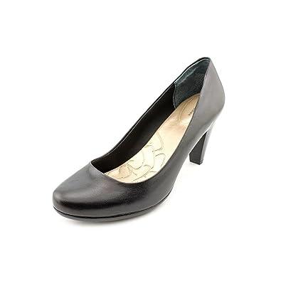 Giani Bernini Women's Sweets AnkleHigh Synthetic Pump Black Size 7.0