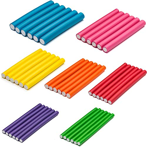 "Tifara Beauty 42-pack 7"" Flexible Curling Rods"