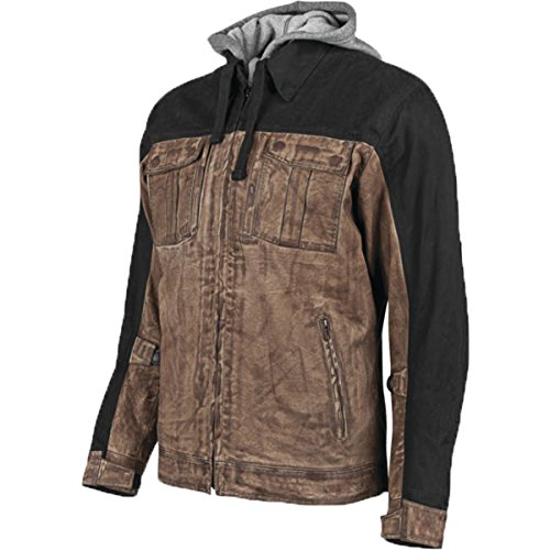 Speed & Strength Rough Neck Textile Jacket (Large) (Brown/Black)