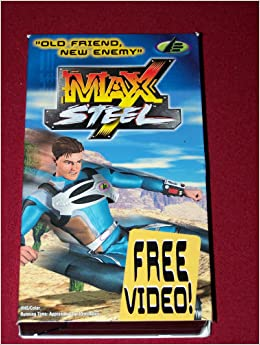 Max Steel VHS Video from the Cartoon Network Episode is