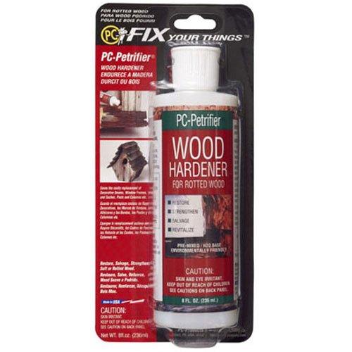 (PC Products PC-Petrifier Water-Based Wood Hardener, 8oz, Milky White)