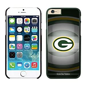 NFL iPhone 6 Plus 5.5 Inches Case Green Bay Packers Black iPhone 6 Plus Cell Phone Case ONXTWKHB1619