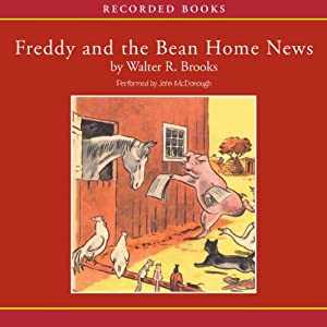 Freddy and the Bean Home News Audiobook