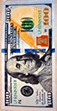 New 100 dollar bill velour brazilian beach towel 30x60 inches