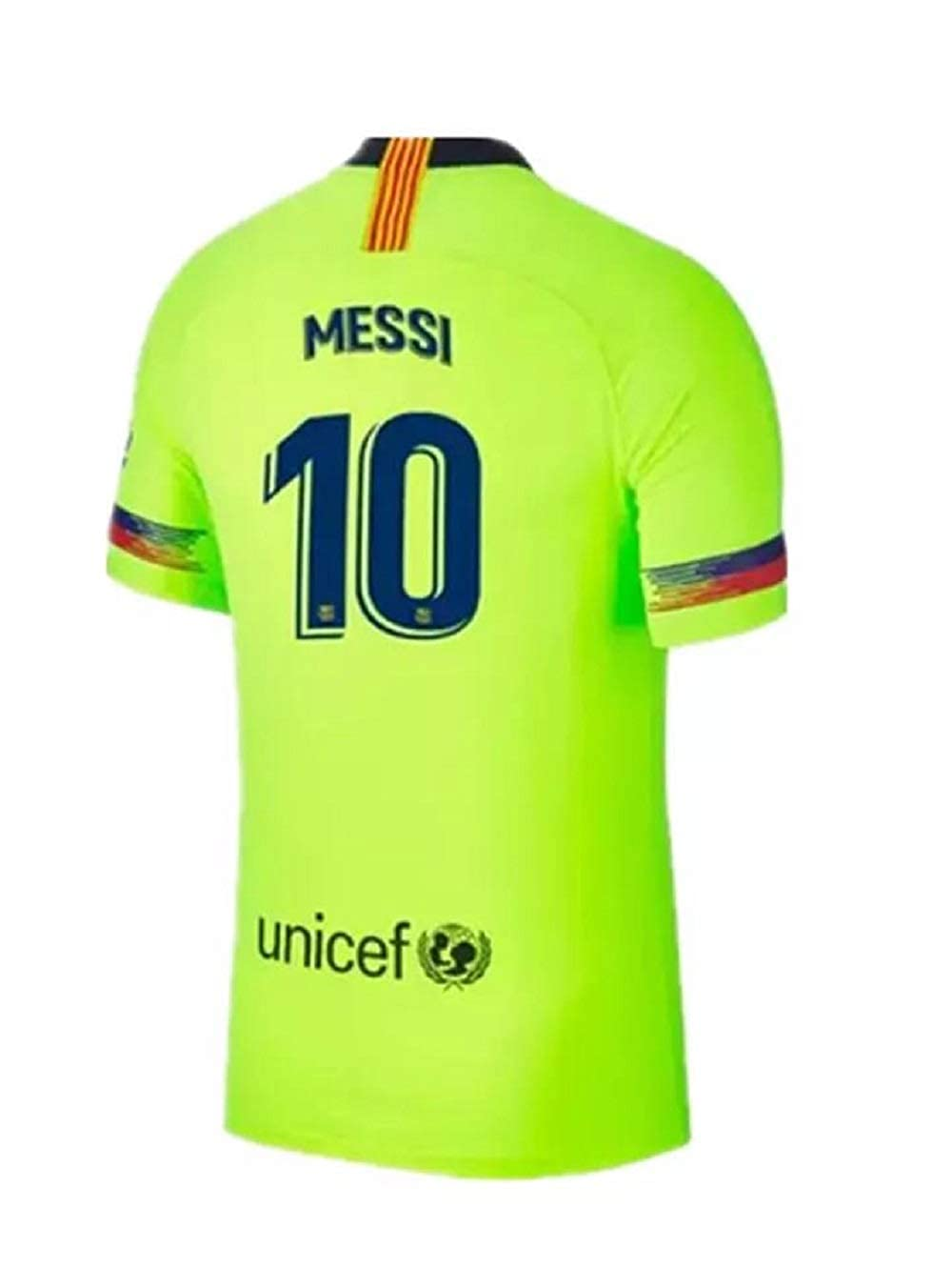 newest collection 64782 a0575 Amazon.com: Lakivde Men's Messi New Away Jerseys 18-19 ...