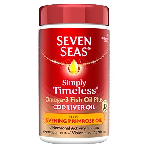 Oil Liver Primrose Evening Cod (Seven Seas 10% OFF CLO plus EPO Caps 90 capsule)