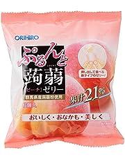Orihiro Purun To Konnyaku Jelly , Peach, 120 g