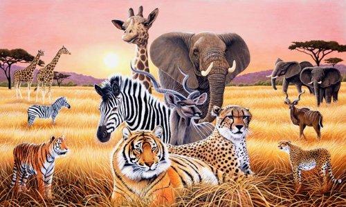 Safari II Mural