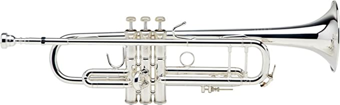 Vincent Bach Stradivarius Professional Trumpet Model 180S37- Silver Plated Finish