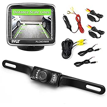 pyle plcm7700 wiring diagram amazon.com: pyle wireless backup car camera rearview ...