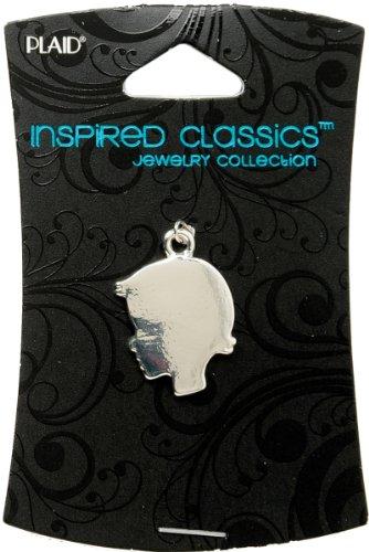 Inspired Classic Charm 1/Pkg-Girl Head