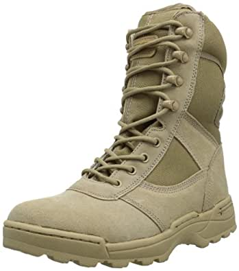 Ridge Footwear Men's Dura-Max Desert Zipper Work Boot,Sand,6.5 M US