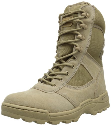 Ridge Footwear Men's Dura-Max Desert Zipper Work Boot - stylishcombatboots.com