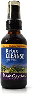 WishGarden Herbs - Detox Cleanse, Tune-Up Tonic, Supports Natural Cleansing, Aids Celluar Health (2 oz Pump)