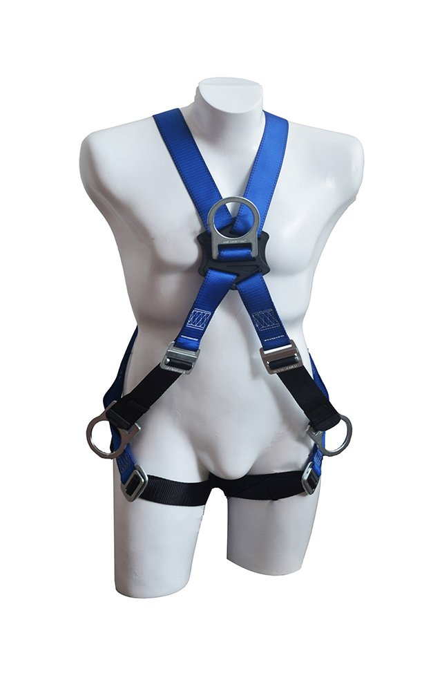 NARA SAFE, NS9300003 Full body harness, Economic, 4 D-rings multi-purpose harness, dorsal and chest attachment (x), fall protection