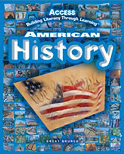 American History : Access Building Literacy Through Learning, Teacher Edition