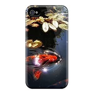 CarlHarris Scratch-free Phone Cases For Iphone 6- Retail Packaging - The Lake With Fish