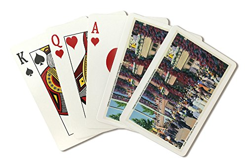 - Miami, Florida - Crowds Cashing in Wins at Miami Jockey Club (Playing Card Deck - 52 Card Poker Size with Jokers)