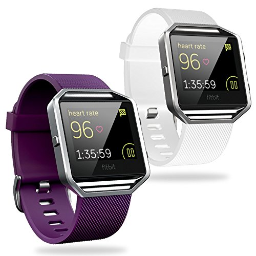 Fitbit blaze Accessory band, Engive Classic Soft flexible