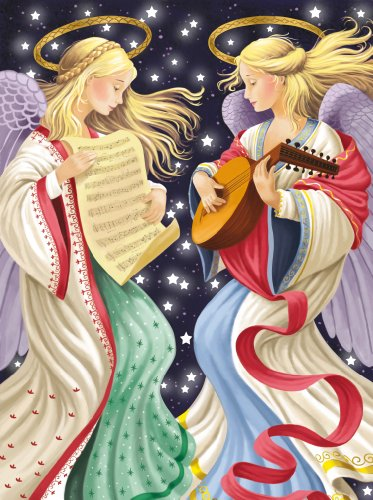 Ravensburger Two Angels - 1000 Pieces Christmas Puzzle