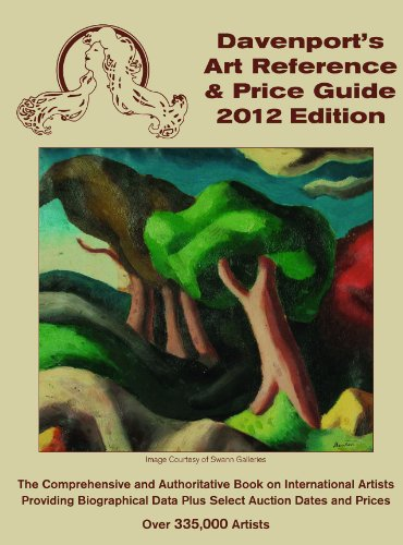 2012 Davenport's Art Reference & Price Guide (Davenport's Art Reference and Price Guide)