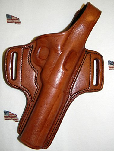TAGUA THUMB BREAK BROWN RH HOLSTER FOR RUGER MARK III 5.5 & BROWNING BUCK MARK CAMPER 5.5