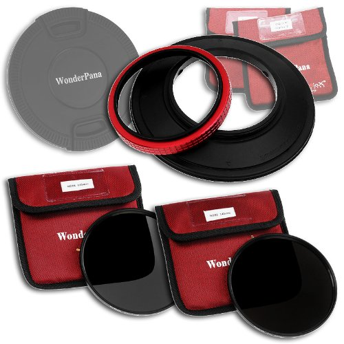 WonderPana 145 Neutral Density Kit - 145mm Filter Holder, Lens Cap, ND16 and ND32 Filters for The Sigma 14mm f/2.8 EX HSM RF Aspherical Ultra Wide Angle Lens (Full Frame 35mm) by Fotodiox (Image #9)