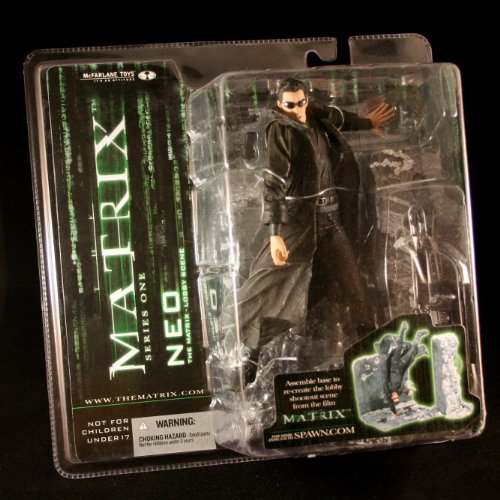 NEO * LOBBY SCENE * The Matrix Series 1 Action Figure & Lobb