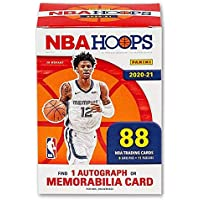 $99 » 2020/21 Panini Hoops NBA Basketball BLASTER box (88 cards/bx incl. ONE Memorabilia or Autograph card)