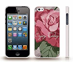 """iStar Cases? iPhone 4 Case with """"Don't Tread on Me"""" Snake Black and White Design , Snap-on Cover, Hard Carrying Case (White) by icecream design"""