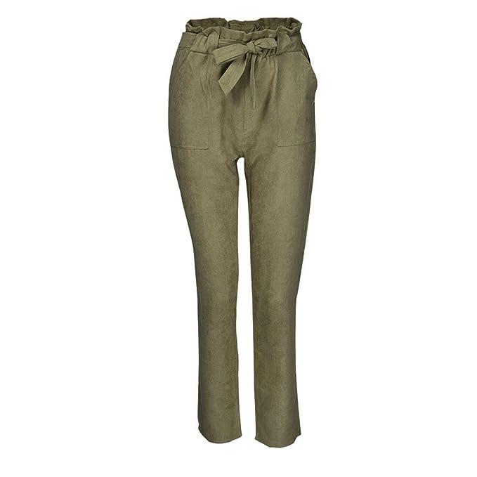 Da Alta Casual Vita A Elastico Somesun Harem Pantaloni In Donna Con WfAfFX