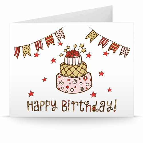 Happy Birthday (Buntings) - Printable Amazon.co.uk Gift