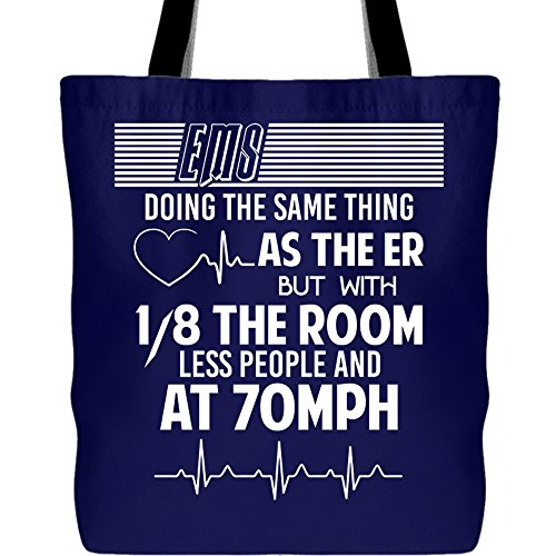 EmergencyMedical Services Tote Bags, That's EMS Canvas Tote Bags (Tote Bags - -