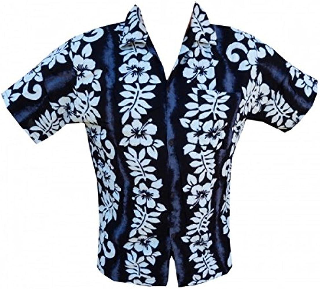Camisa hawaiana hibisco Line niño Negro negro: Amazon.es: Ropa y accesorios