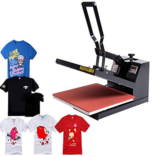"Eight24hours Digital Heat Press Transfer T-Shirt Bag Clamshell Sublimation Machine 15"" x 15"""