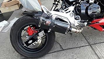 Low Mount Exhaust Stainless Steel for Honda Grom msx 2013-2019 All model  and Ssr Razkull 125