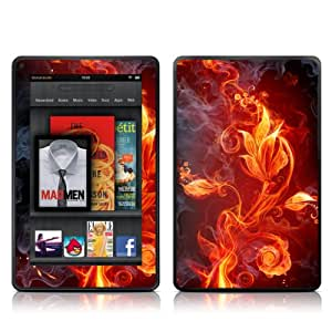 Kindle Fire Skin Kit/Decal - Flower of Fire (does not fit Kindle Fire HD)