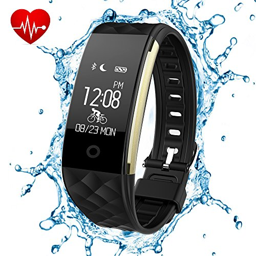 Fitness Tracker, Luxsure Waterproof OLED Touch Screen Sma...