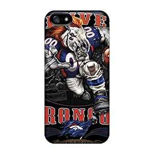 Anti-scratch And Shatterproof Denver Broncos Phone Case For Iphone 5/5s/ High Quality Tpu Case