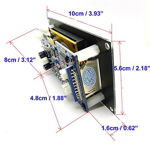 Qianson LCD 12V WMA WAV MP3 Player Decoder Audio Board FM - Import