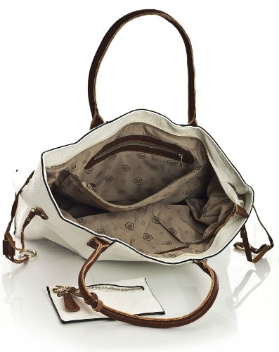 Zip Big nbsp;in 1 Borsa Con Dark Bag Tracolla nbsp;borsa Handbag Shop E Shopper Grey 3 Up Make Medio Womens Apertura Lungo A qF0XFw4rx