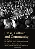 Class, Culture and Community: New Perspectives in Nineteenth and Twentieth Century British Labour History, Anne Baldwin, 1443840645