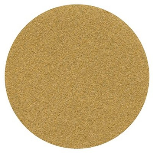 3M(TM) Hookit(TM) Paper Disc 236U, C-Weight, Hook and Loop Attachment, Aluminum Oxide, 6'' Diameter, P80 Grit, Gold  (Pack of 50) by Cubitron