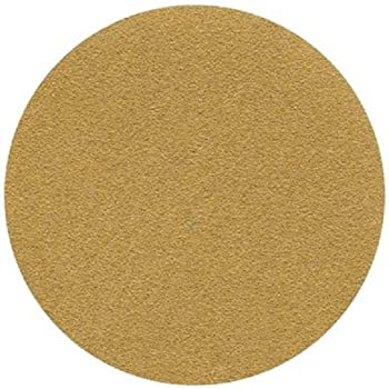 "3M(TM) Hookit(TM) Paper Disc 236U, C-Weight, Hook and Loop Attachment, Aluminum Oxide, 6"" Diameter, P220 Grit, Gold  (Pack of 50)"