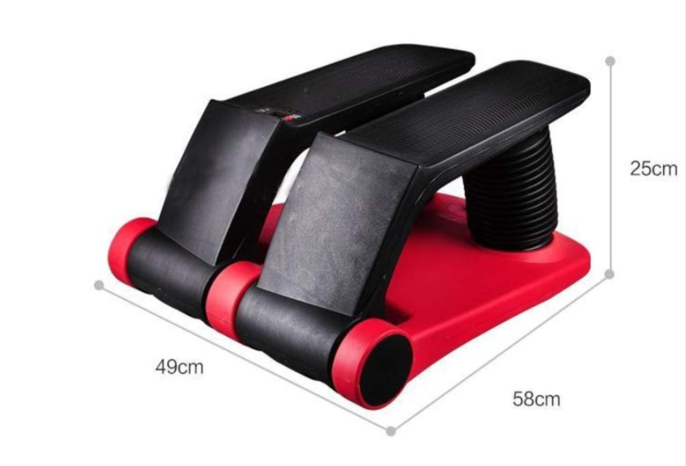 NUAN233 Air Fitness Stepper, Exercise Equipment with Resistance Bands -Protect Your Knees and Exercise Your Body, Free Installation