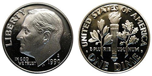 1990 S Proof Roosevelt Dime PF1